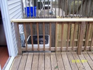Non Pressure Treated Handrail